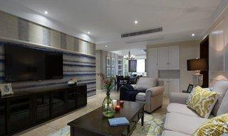 120平时尚美式现代风二居室