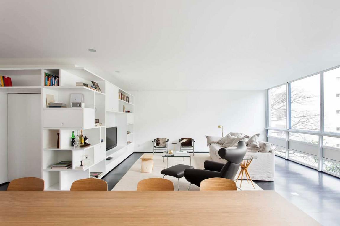 简约舒适客厅家装效果图