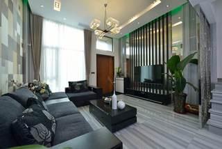 后现代时尚客厅效果图设计