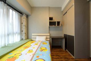 后现代简洁飘窗儿童房设计