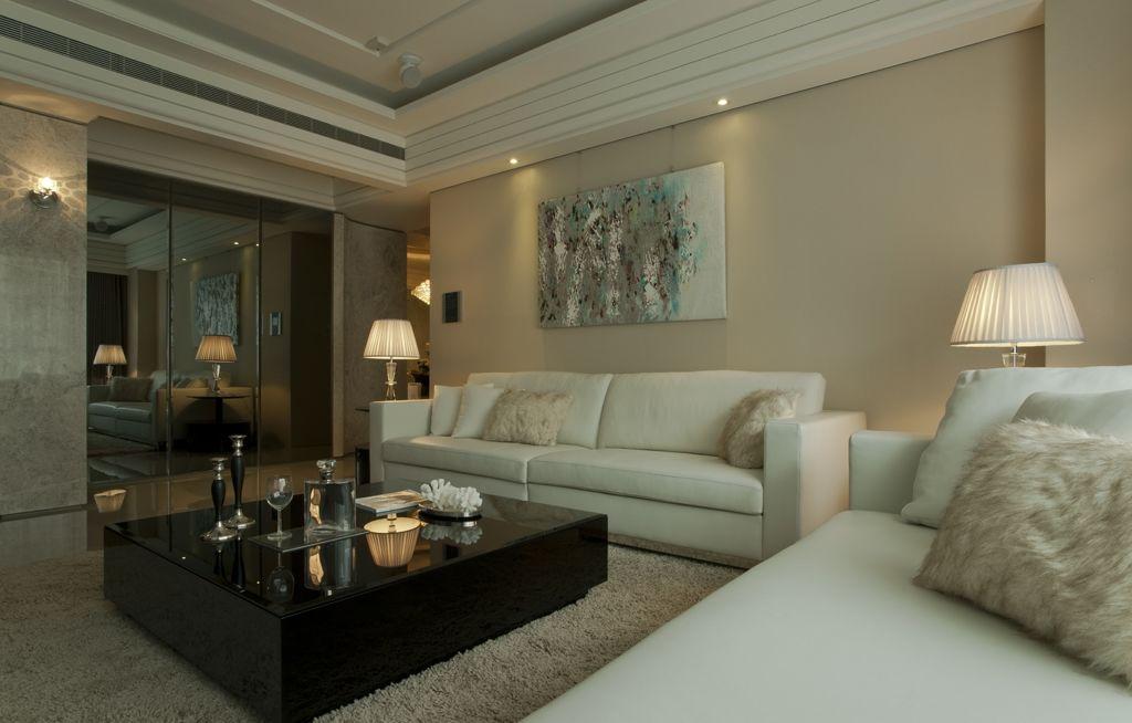 简约客厅沙发装修效果图