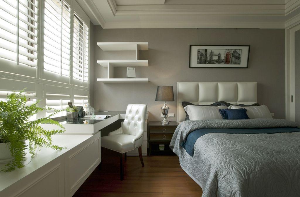 黛丽四居室现代风格家装次卧效果图