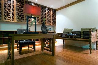 优雅新中式三居室风格效果图