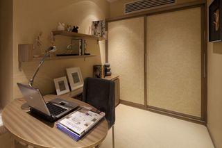 现代简洁书房装修效果图