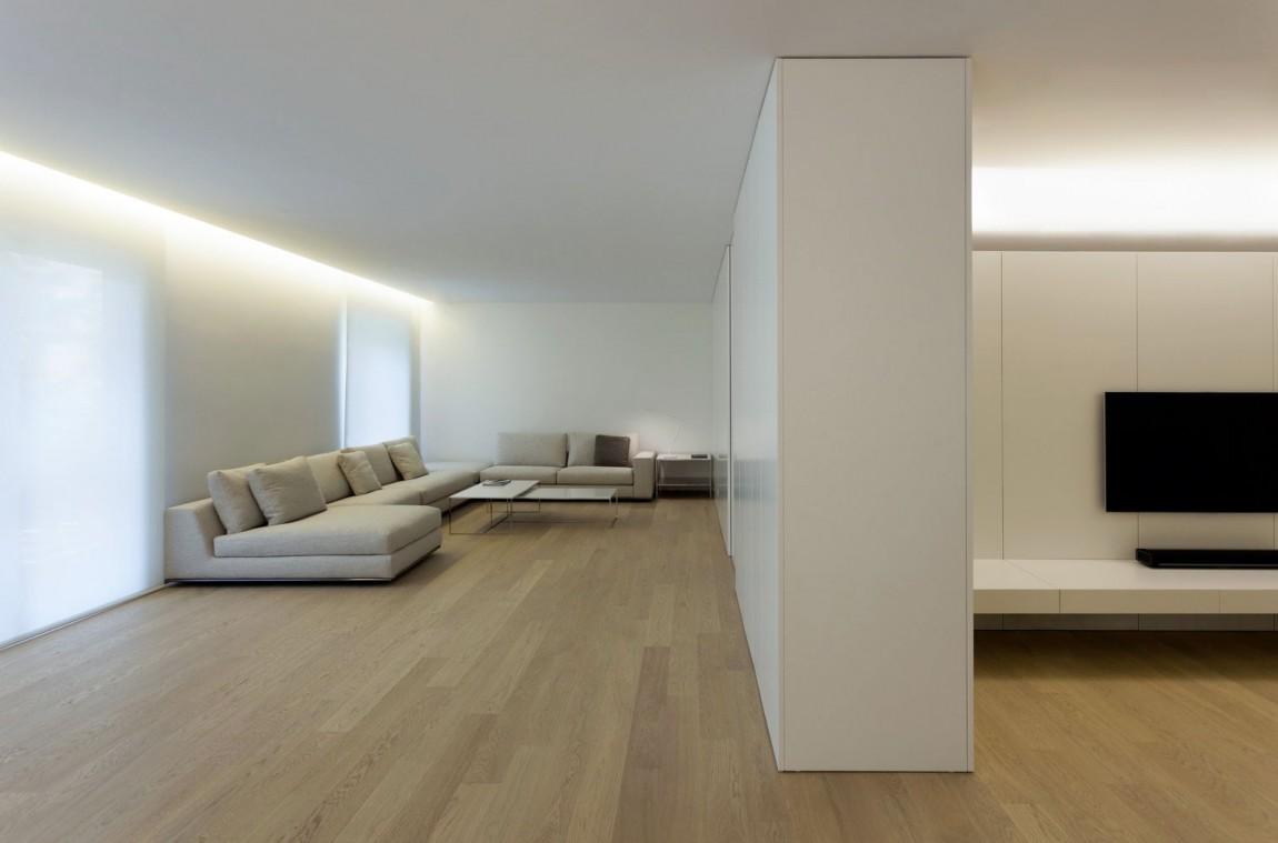 超简洁日式客厅家装效果图