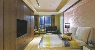 新古典欧式风混搭二居室效果图
