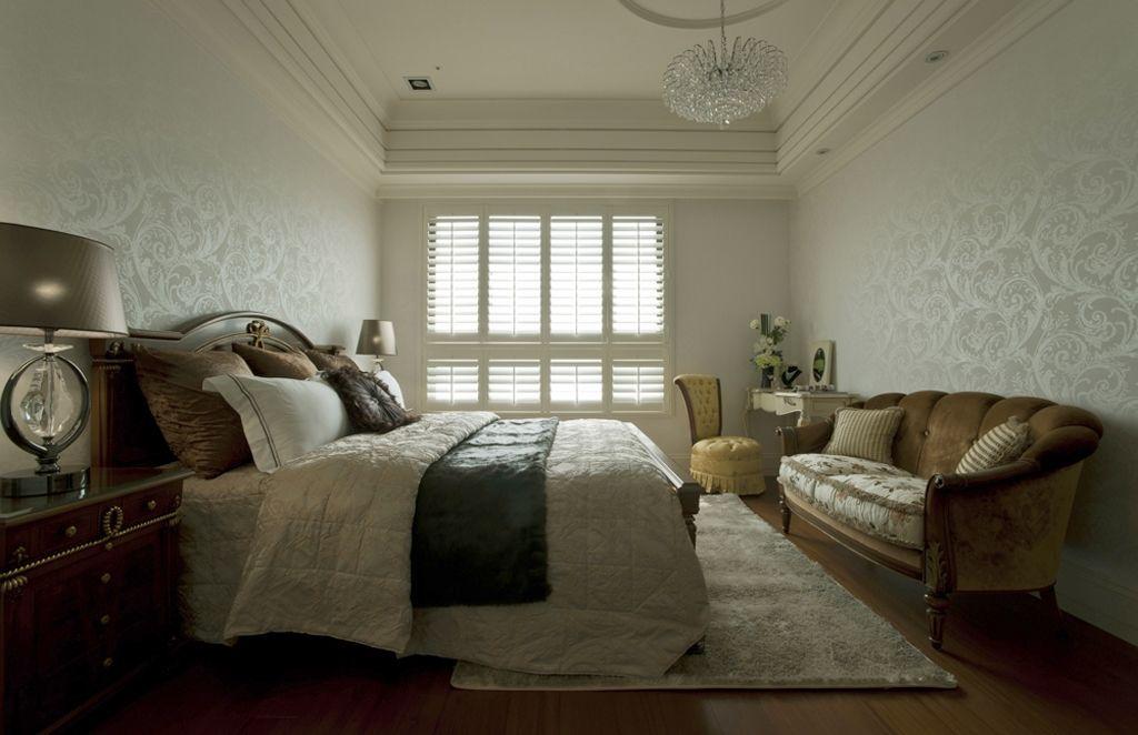黛丽四居室现代风格家装主卧效果图